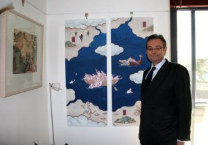 Ambassador Raby has been a contemporary Chinese art buff since the 1980s. Could Raby and Rudd lead the way to better Sino-Australian ties?