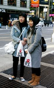 Younger Chinese tourists are coming to cities like New York in greater numbers, many of whom come solely for shopping sprees
