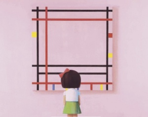 Up for auction in Hong Kong, May 24, Liu Ye, Boogie Woogie, Little Girl in New York (2006)