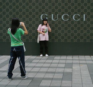 Gucci opened its 28th China location this weekend; the company sees China as a cornerstone of its ongoing global strategy