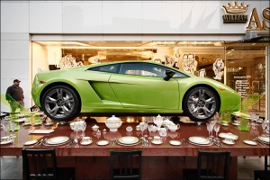 China has become one of Lamborghini's top markets after only four years in the Mainland