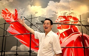 Dr. Woffles Wu has amassed one of Asia's most extensive collections of contemporary Chinese art