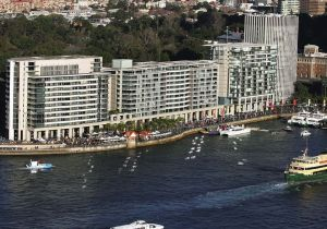 Chinese buyers have flocked to the Sydney waterfront to buy luxury properties at historically low prices