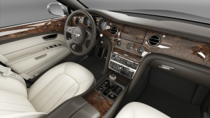 The Bentley Mulsanne includes many features popular in the Chinese market, such as a spacious interior and chauffeur-ready driver's seat