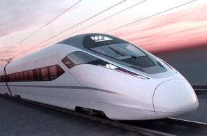 Bombardier's ZEFIRO technology features maximum operating speeds of 380 kph (Image courtesy Bombardier)