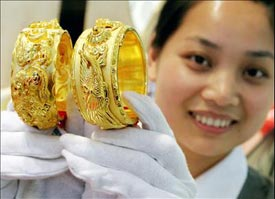 """Gold has been a traditional """"hedge"""" in China for centuries"""