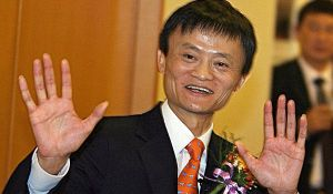 Jack Ma hopes his company, Alibaba, can become a truly global brand