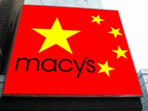 Is Macy's going to push for more brand recognition among Chinese shoppers?