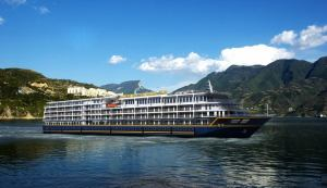 Tourists can expect luxurious surroundings as they take in the spectacular views of the Yangtze River aboard the five-star Victoria Jenna (Image: PR)