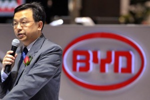 "BYD's Wang Chuanfu is now worth over US $5 billion, putting him at the top of China's ""Rich List"""