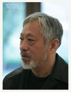"""The Godfather of Chinese contemporary art,"" Li Xianting (Photo: ArtZine China)"