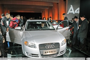 China is one of Audi's most reliable and profitable markets; As Chinese luxury auto brands emerge, will they retain their dominance?