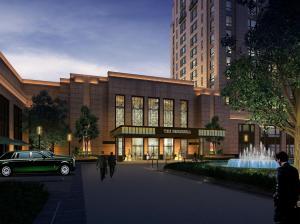 The Peninsula Shanghai is designed to emulate the city's Jazz Age style (Graphic courtesy Peninsula Hotels)